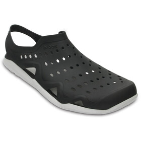 Crocs Swiftwater Wave - Sandales Homme - blanc/noir